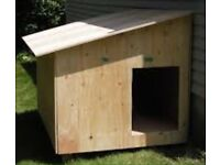 Wooden Pet House Hand Made