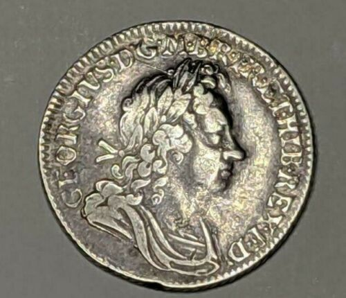 GREAT BRITAIN SHILLING 1720 GEORGE I