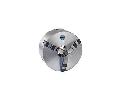 Tmx 16 3-jaw Universal Solid Jaw Semi-steel Body Scroll Chuck W 5 Thru Hole