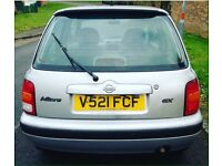Micra automatic corsa 10month Mot 12Month tax low milage lady owner