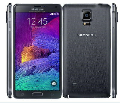 "New Unlocked 32GB Samsung Galaxy Note4 N910F 4G LTE 5.7"" Smartphone Black"