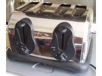 Bush 4 Slice/Slot Toaster