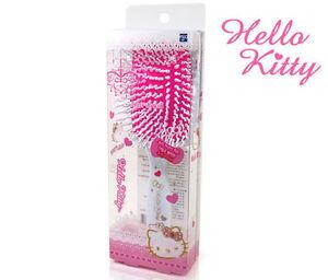 Hello Kitty Square Cushion Hair Brush Styling Curling White HK077 Plastic