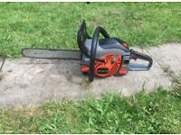 Hitachi petrol chain saw