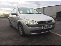 VAUXHALL CORSA 1.0 LITRE - CHEAP INSURANCE. IDEAL FIRST CAR
