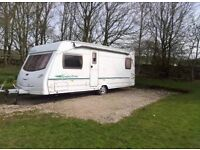lunar 4 birth fixed bed touring caravan special edition 2004 based on lexon single axle