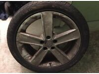 Vw Passat wheel
