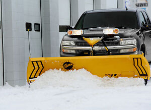 Chasse-neige Fisher avec camions Chevrolet 1999
