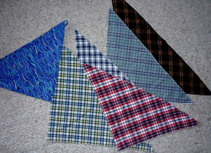 "6 neckerchiefs or bandanas or pocket 'chiefs' or Dog 'chiefs"" Cambridge Kitchener Area image 1"