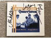 Quarry Men Signed album