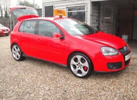 VW GOLF GTI TURBO 5 DOOR MANUAL + FULL MOT + FULL SERVICE HISTORY *TORNADO RED*