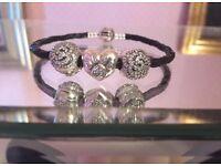 Real Pandora Bracelet in Original Box and Bag