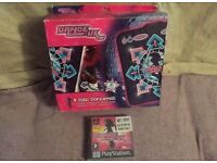 Brand new boxed dance UK dance mat only opened to check contents mat & game still sealed