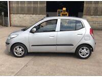 2010 Hyundai i10 1,2 litre 5dr