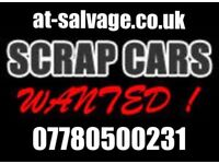Used cars Wanted scrap my car scrap van damaged running cars cash on Collection today at-salvage