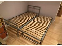 M&S metal bed with guest bed - £60 delivered