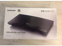 Brand new 4K Samsung Ultra HD Bluray player