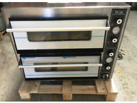 CANMAC - PIZZA OVEN - DOUBLE DECK - ELECTRIC SINGLE PHASE