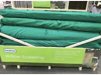 Gardman Willow Fencing Screening Garden Screen 4m x 2m - High Quality & Brand New In Bag - RRP £50