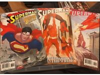 DC Superman comic issues 674, 679 & 680