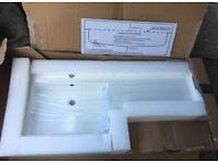 Polymarble basin brand new