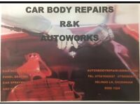car accident repairs body works auto repairs