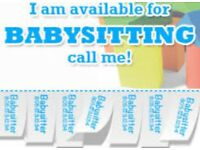 Looking for a babysitter? I'm your one!
