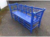 Vintage Spanish bench/ seat from LASSCO retro antique furniture
