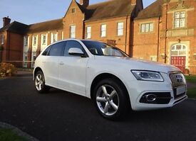 Audi Q5 Facelift s line 2013 white immaculate*