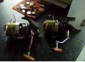 Wychwood Equinox big pit reels - carp fishing