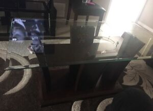 Dining table set with coffee tables