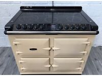 AGA SIX FOUR S-SERIES ALL ELECTRIC RANGE COOKER