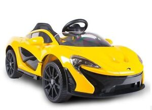 LISENCED MCLAREN P1 RIDE ON ELECTRIC TOY CAR!! 12V!! REMOTE!