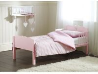 Excellent condition pink heart toddler bed