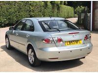 2003 Mazda 6 2,0 litre 5dr 1 owner