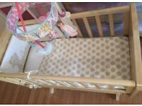 Baby Cot for newborn up to approx. 4-6months