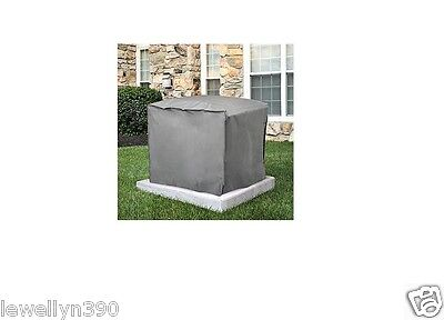 Central Air Conditioner Cover Square 30  H X 34 W X 34  D   Gray  New