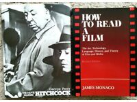 Film / Movie / Cinema Books: Hitchcock and How to Read a Film