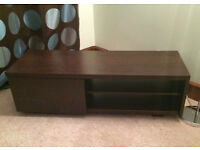 NEXT opus mango tv unit - Dark Brown and Excellent Condition