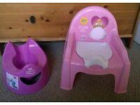 Potties £4 for Both.