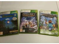 Minecraft & Terraria 3 game bundle - Xbox 360