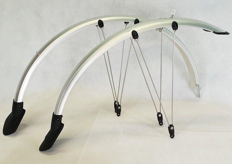 Fahrrad Schutzblech Set Vorne Hinten Schutzbleche 20,24,26 und 28Zoll Kunststoff