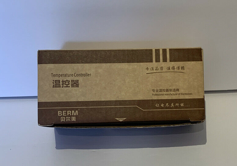 BERM REX-C100 Digital LED PID Temperature Controller Thermostat Thermometer NEW