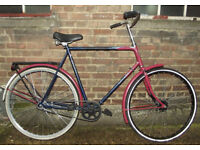Classic Vintage dutch bike SPARTA ,frame size 23inch in MINT condition NEW REAR WHEEL & tyre BARGAIN