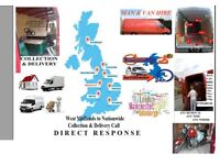 Transportation Relocation Courier Collection Delivery Van hire West midlands to All UK EU Man Van Se