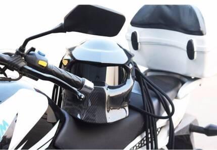 Carbon Fibre Predator Helmet