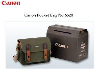 CANON Herringbone 6520 Camera Shoulder Bag for D-SLR SLR RF Mirrorless Lens v_e