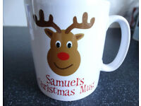 Children's Personalised Christmas mugs, giftwrapped - Christmas present