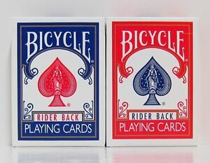 Lot of 12 Bicycle & Bee Playing Card Decks - 11 Different Designs - Brand New