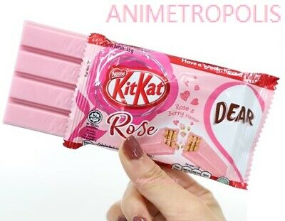New Nestle KitKat Kit Kat Romance Love Rose Berry Chocolate Limited Pink Ed -